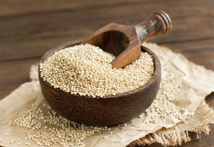 Amaranth, the ancient Aztec grain.