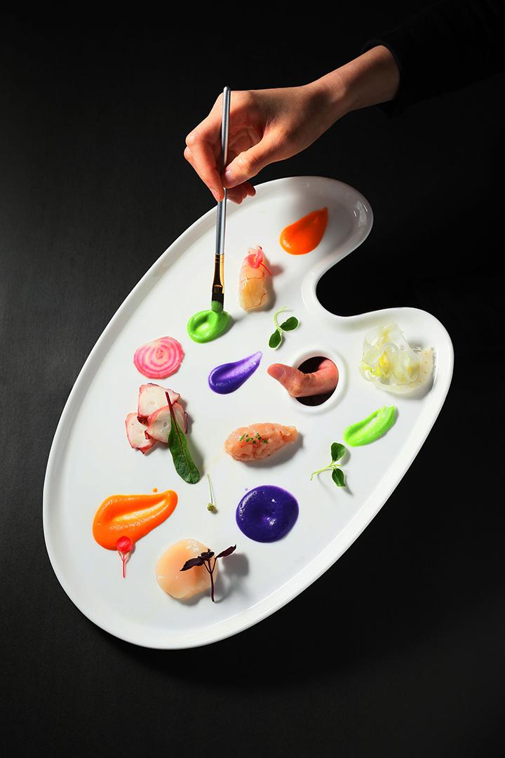 於 Cucina 供應的鮮「色」奪人(圖:Cucina)