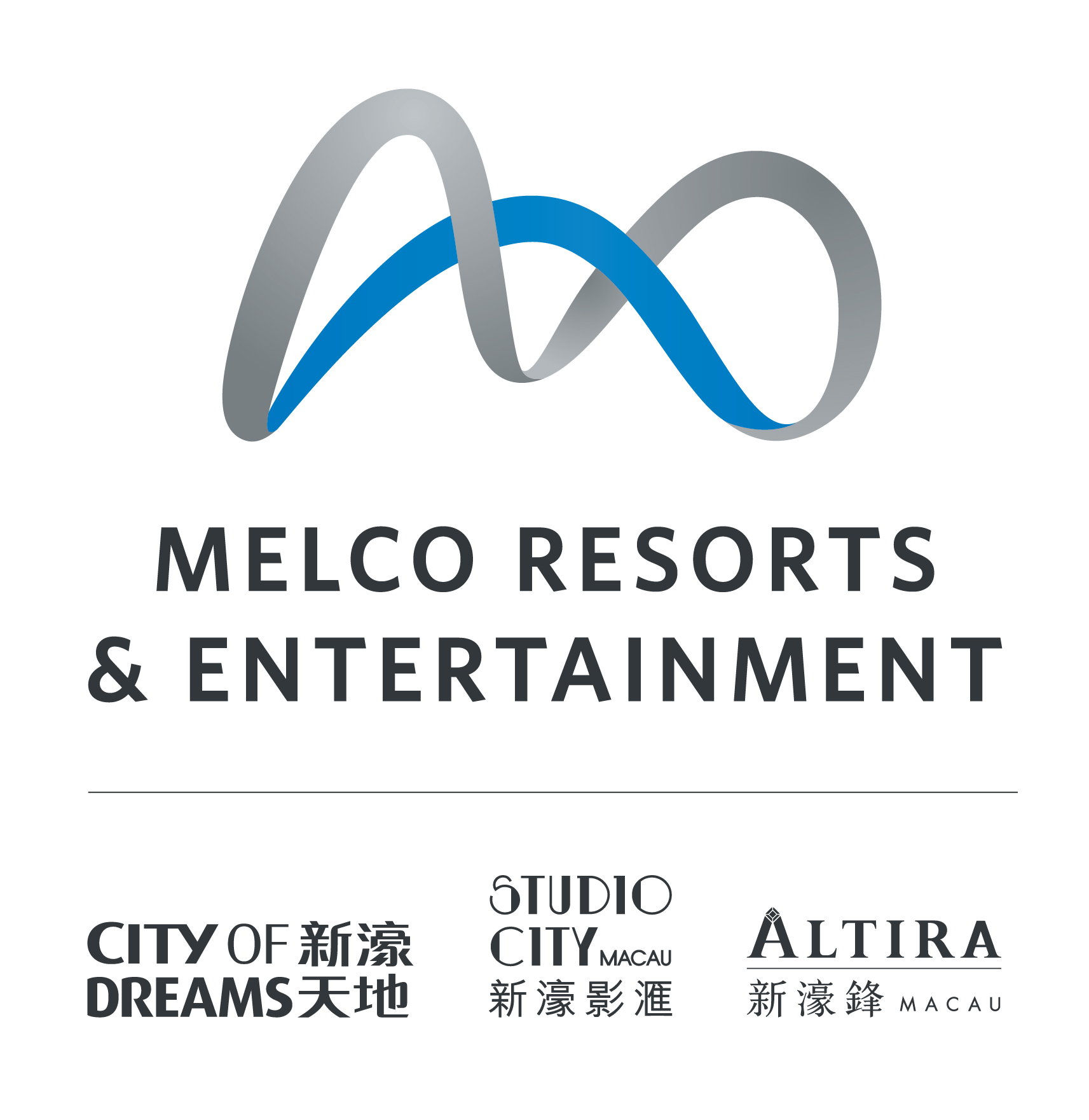 Melco Resorts & Entertainment 標誌