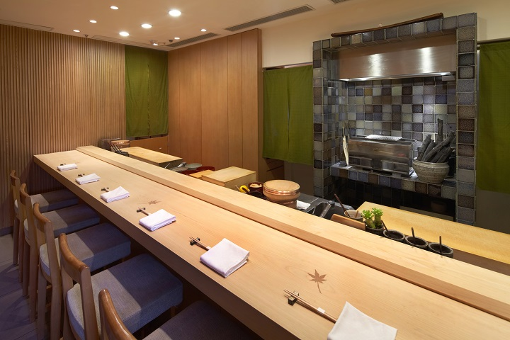 "The sushi bar is an ""open"" concept and is definitely one of the best ways to present omotenashi. (Photo: Sushi Shikon)"
