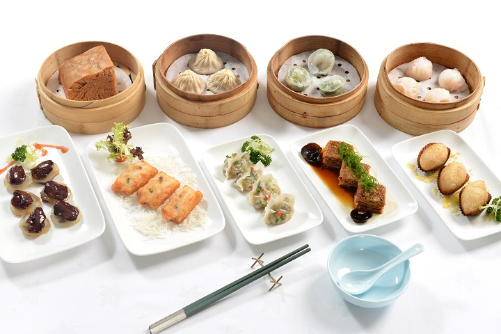 """China Tang (Harbour City) recently launches """"The Grand Dim Sum"""", allowing guests to enjoy a variety of dim sum in the evenings. Photo: China Tang"""