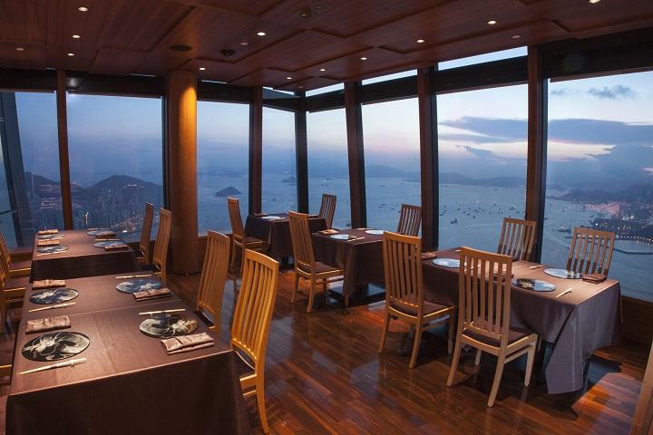 天空龙吟餐厅内部,装潢低调平静(图:天空龙吟)