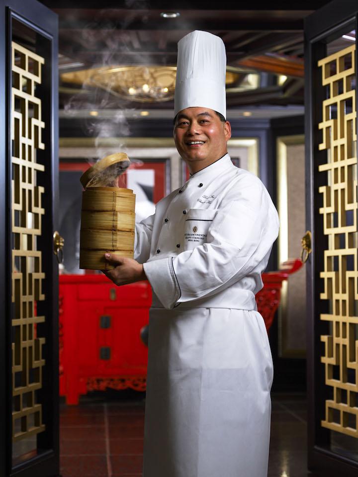 Executive Chinese Chef Leung Fai Hung of InterContinental Grand Stanford Hong Kong