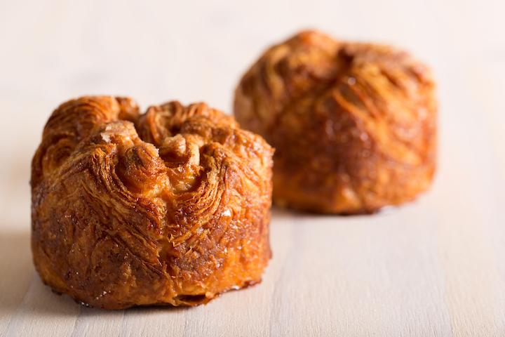 Kouign-amann 法国焦糖奶油酥,质感比牛角包厚重。