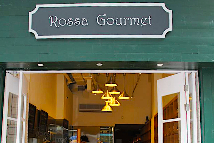 Rossa Gourmet 店面。照片來源:Rossa Gourmet