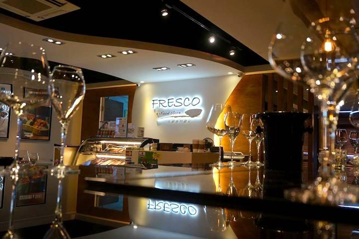 Fresco主打高級生蠔。照片來源:Fresco