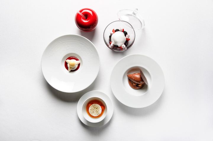 Pierre Gagnaire's Grand Dessert(相片來源:香港文華東方酒店)