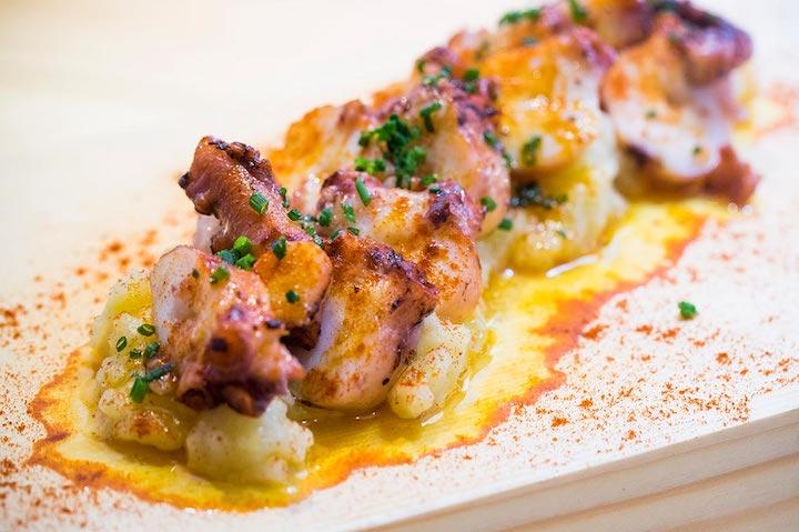 西班牙小菜中海鮮是主角。照片來源:FOC