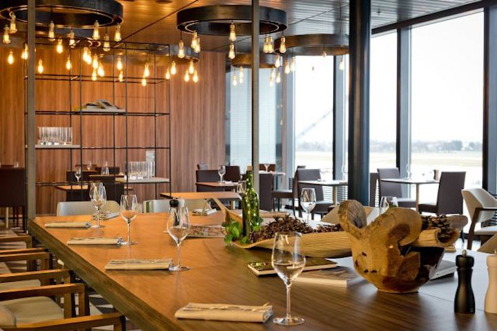 Le Chef Restaurant at Geneva Airport in Switzerland. Photo: Le Chef