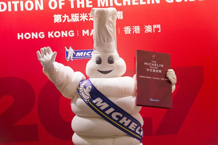 Michelin's famous Bibendum mascot