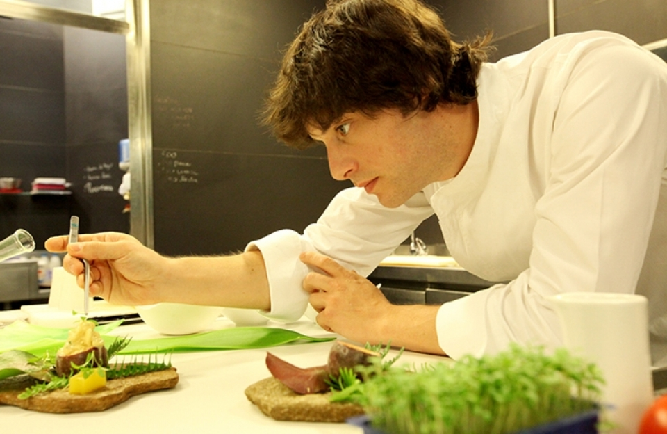 Chef Jordi Cruz of the newly-minted three-star ABaC in Barcelona (Photo credit: ABaC website)